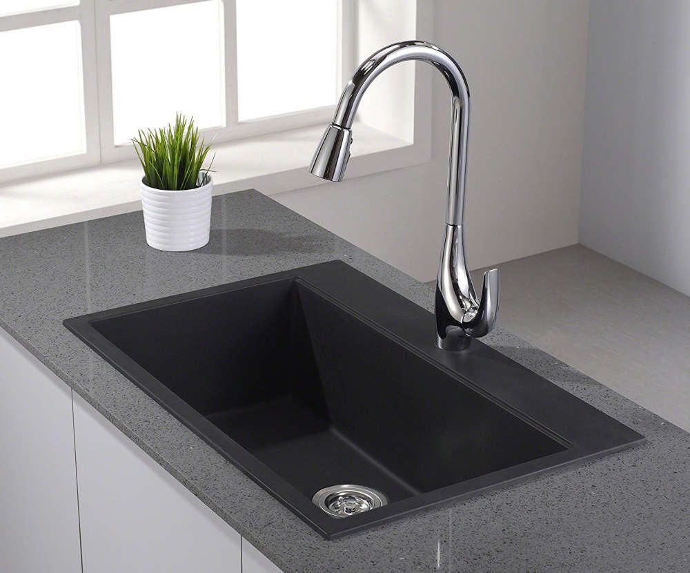 Granite Composite Kitchen Sinks Have Similar Qualities To Solid But Are More Durable Easier Maintain And Less Expensive