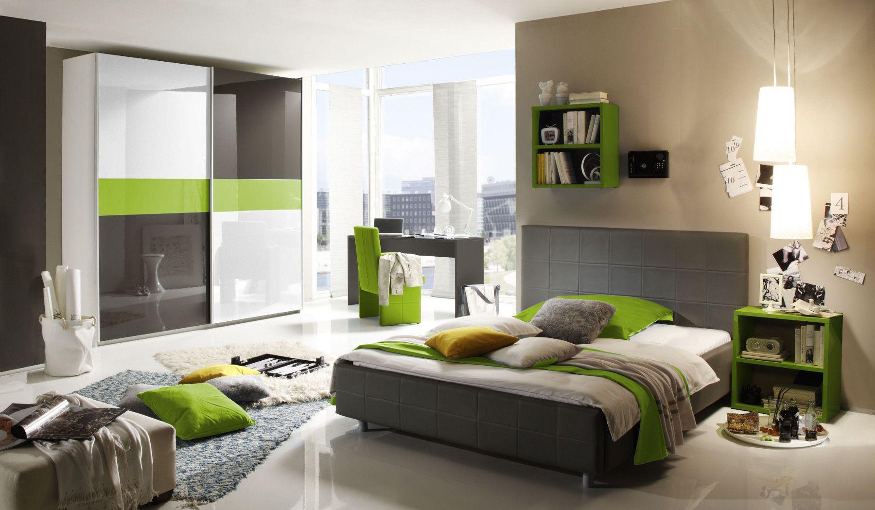 awesome schlafzimmer grun grau #4: schlafzimmer grün grau