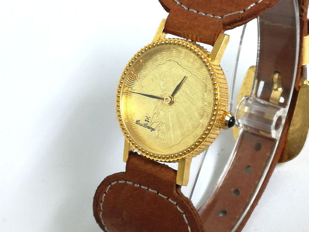 Detalles De Reloj Pulsera Dama Cocci Lorenzo Quartz Original