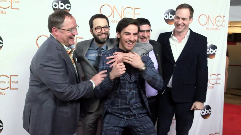 Colin O'Donoghue, Adam Horowitz and Edward Kitsis attends ...