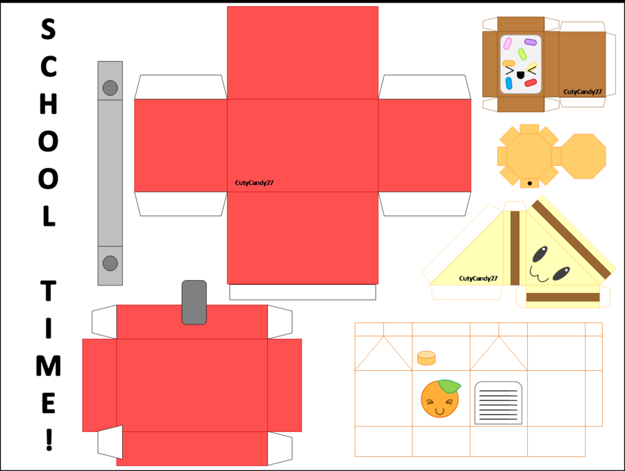 000 kawaii crafts deviantART More Like Papercraft House by