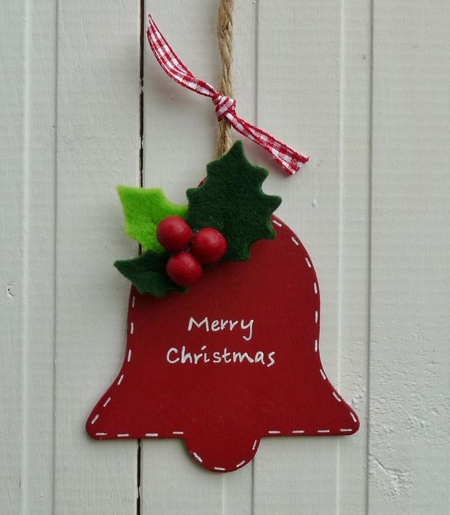 Wooden Christmas Bell Tree Decoration £400 Christmas Ideas