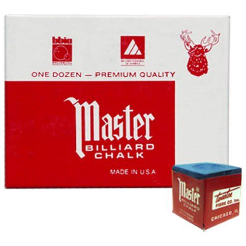 One Dozen Blue Master Pool Cue Chalk Master  www.amazon.com/dp/B000OEDJVE/ref=cm_sw_r_pi_dp_pHPRsb10C8J77XEQ