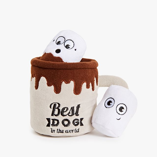 Hugo S Hot Cocoa Cute Dog Toys Puppies Kitties Dog Toys