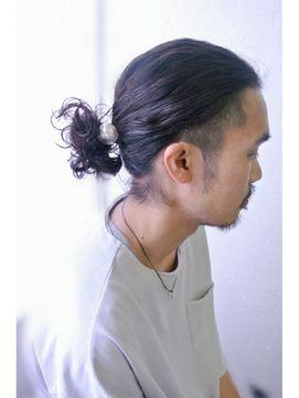 ムーンジェジェ Moon Jeje メンズアレンジロング by橋本大吾 バーバー スタイル 髪型 メンズヘアスタイル ロング 髪型