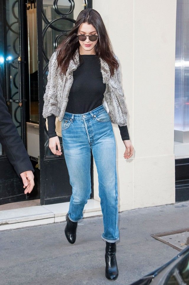 06f36a63d7 Bella Hadid s Under- 100 Jeans Are Sure to Sell Out