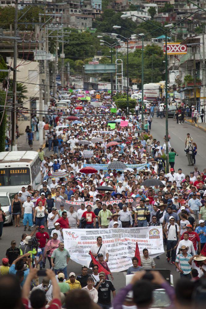 Justicia para los estudiantes víctimas de Iguala