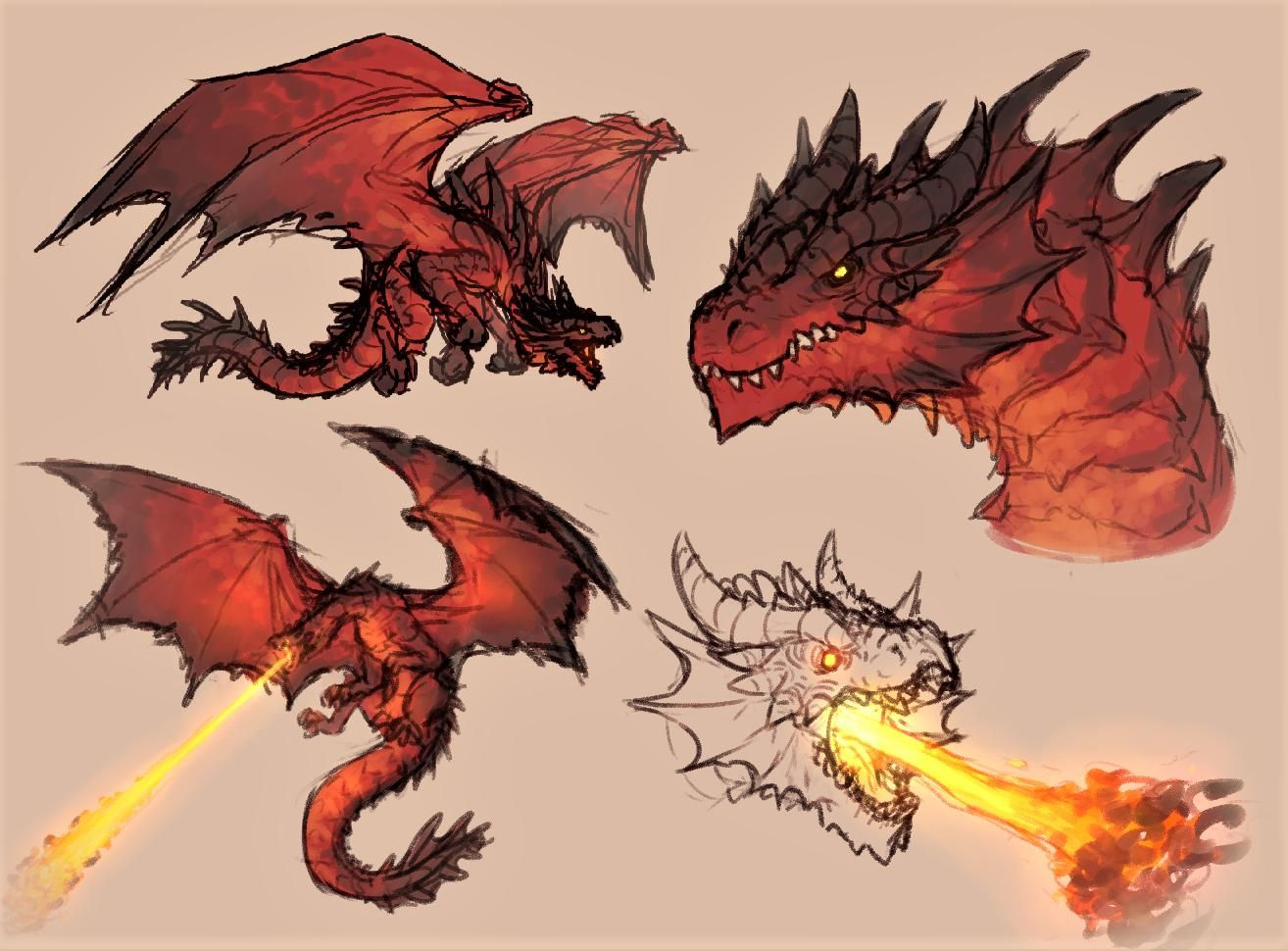 Kroco On Twitter In 2020 Dragon Artwork Dragon Silhouette Mythical Creatures Fantasy