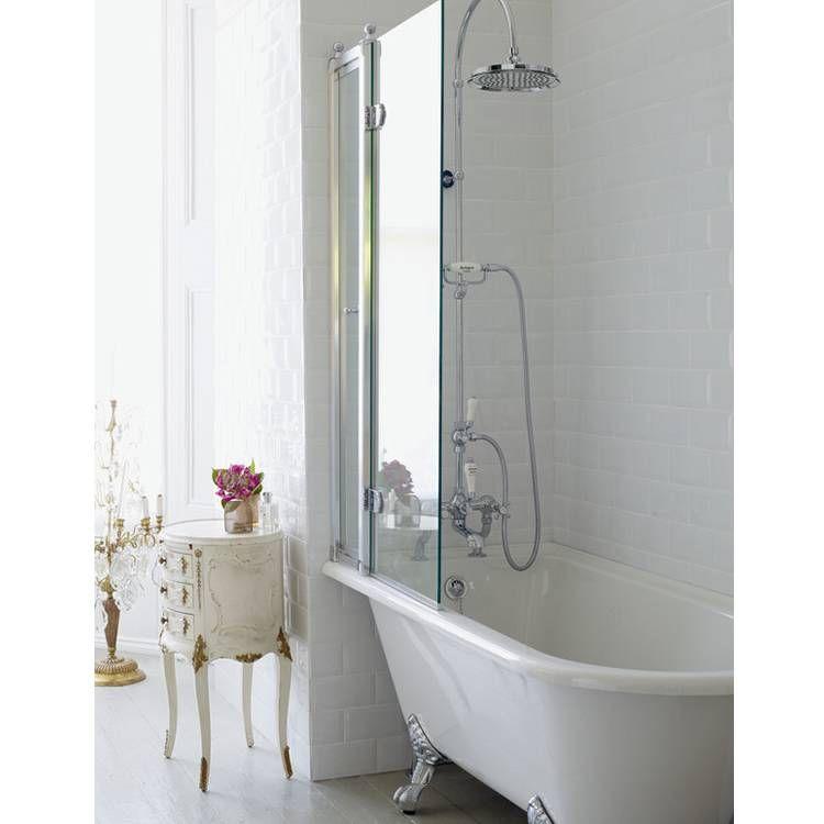 Burlington Hampton 1700mm Showering Bath & Feet - Left Hand | Corner ...