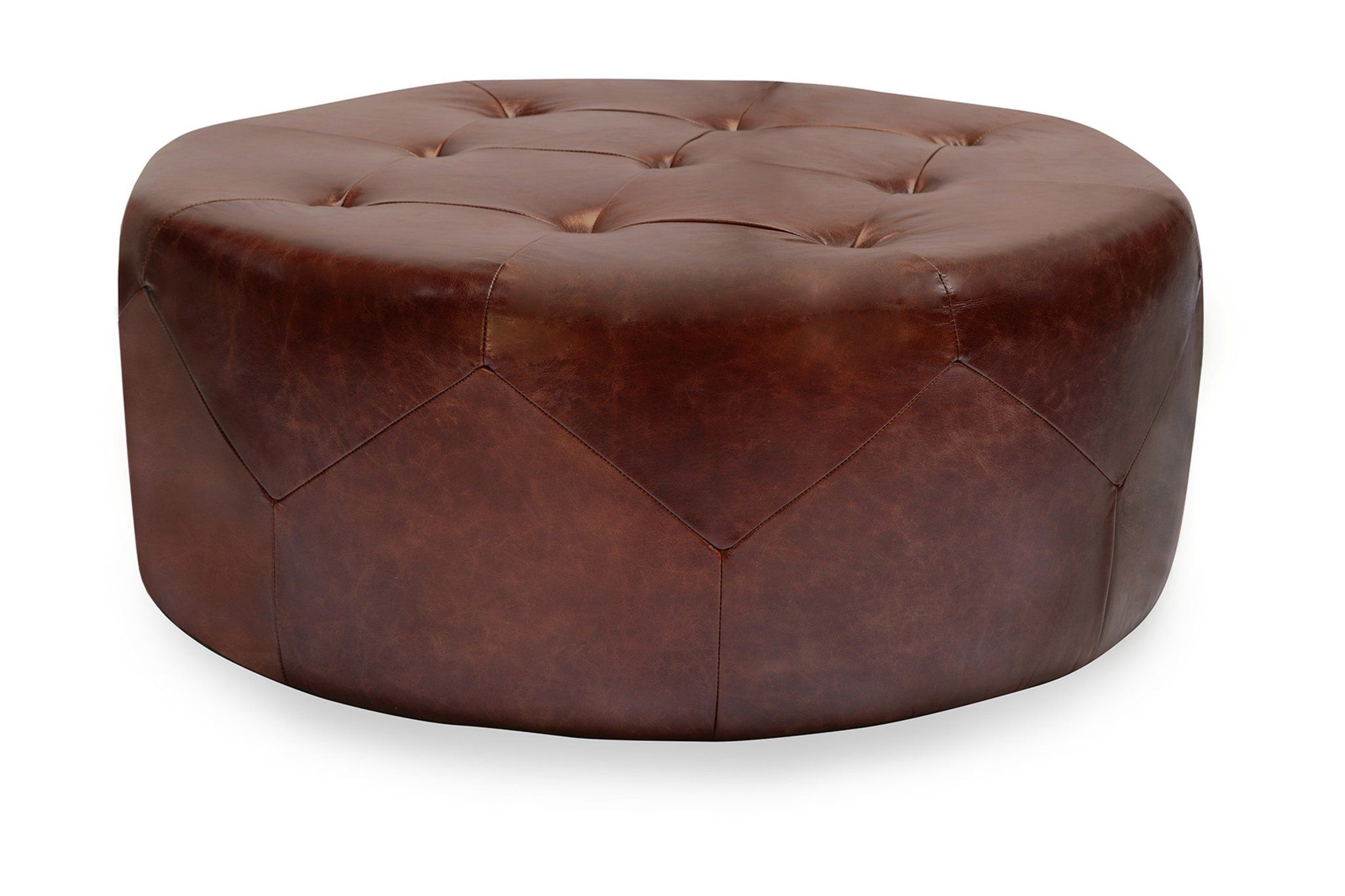 Freeman Ottoman Leather Ottoman Ottoman Tweed Furniture