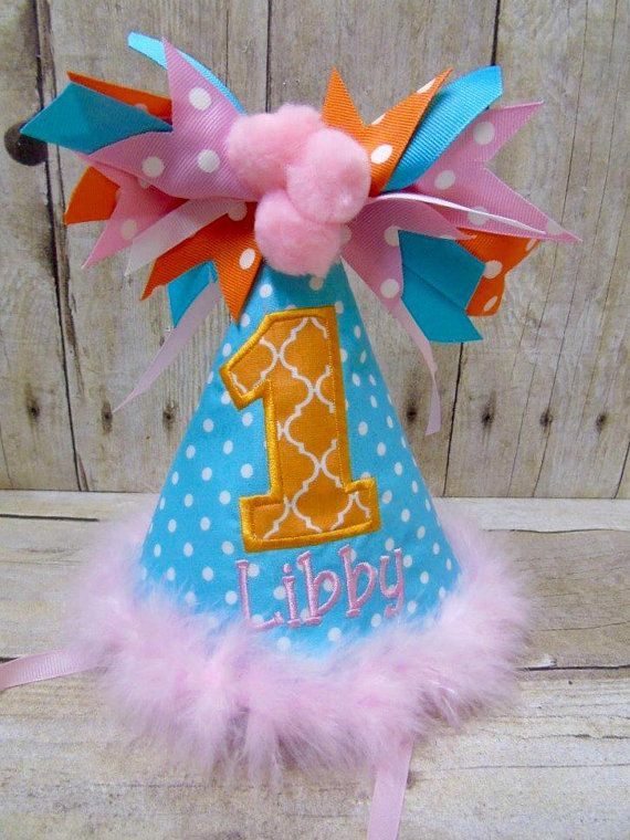 Customize Birthday Hat Personalized By HushabyeStrBoutique On Etsy