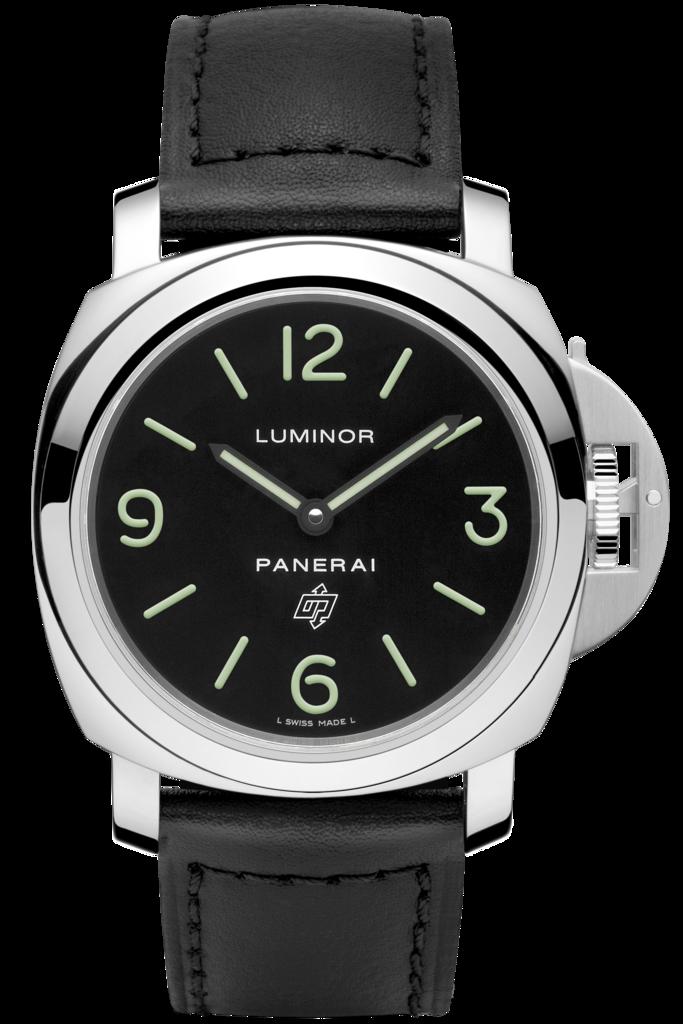5d17cb211ed Panerai  NEW  PAM01000 Luminor Base Logo Acciaio (Retail HK 37