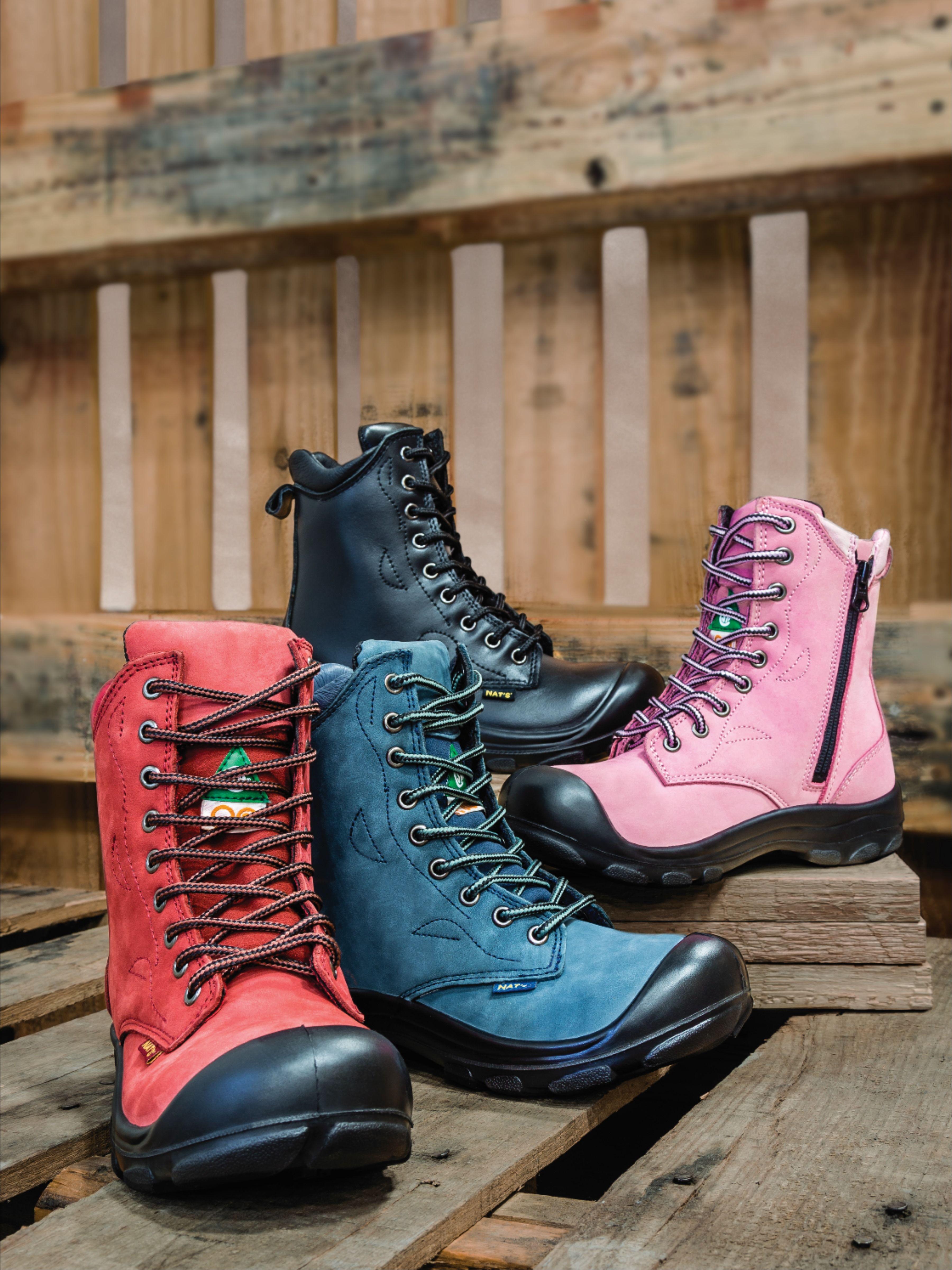 Pin on Women's safety footwear