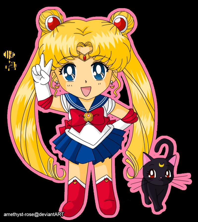 01 Sailor Moon And Luna Sailor Moon Art Sailor Moon Merchandise Sailor Moon Fan Art
