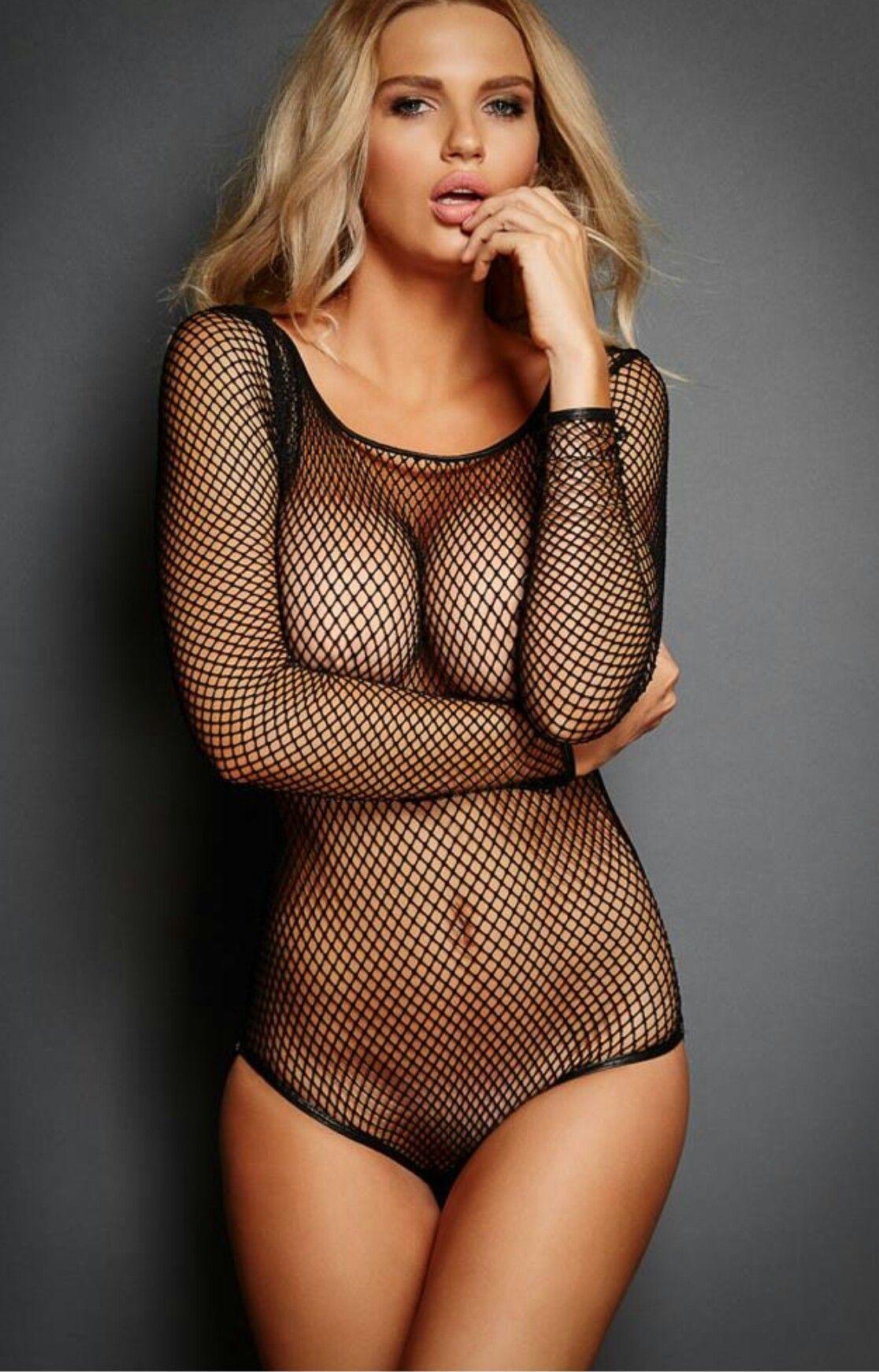 c6085b70df Black fishnet bodysuit. Black fishnet bodysuit Women Lingerie ...