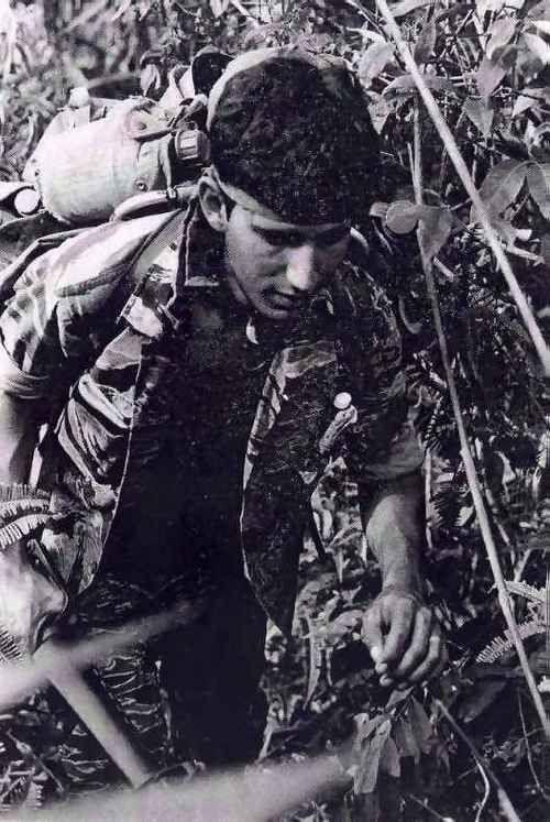 Tiger Force Soldier 101st Airborne Division Vietnam