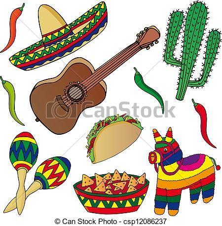 Dibujos de sombreros mexicanos buscar con google - Imagenes de manualidades ...
