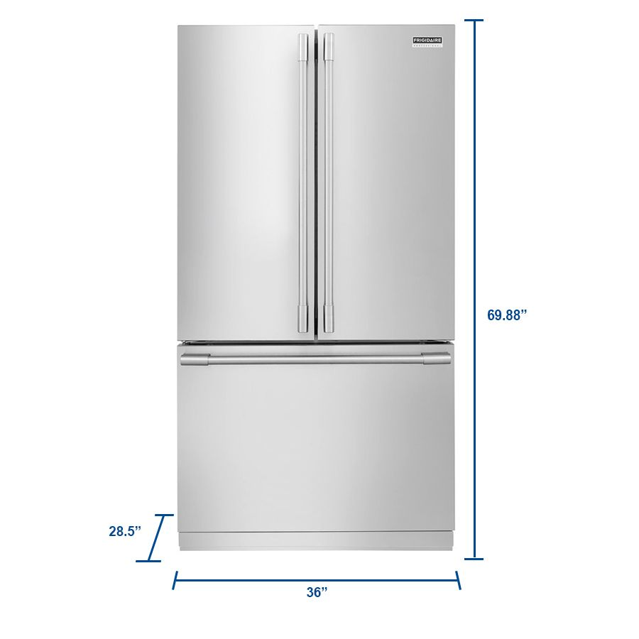 ideas home on stunning refrigerator with frigidaire design doors problems cheap interior french ice maker gallery door