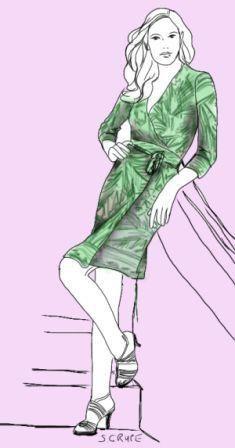 Neu im Blog: Alles über den Mode-Klassiker Wickelkleid