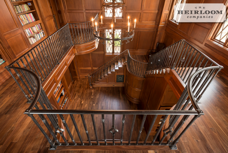 Best Interior Iron Stair Railing The Heirloom Companies 400 x 300