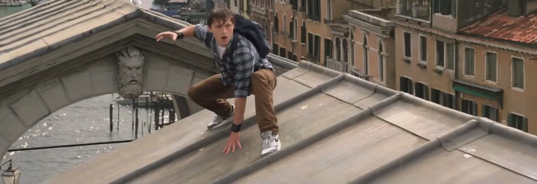 Nike Air Max shoes Tom Holland in