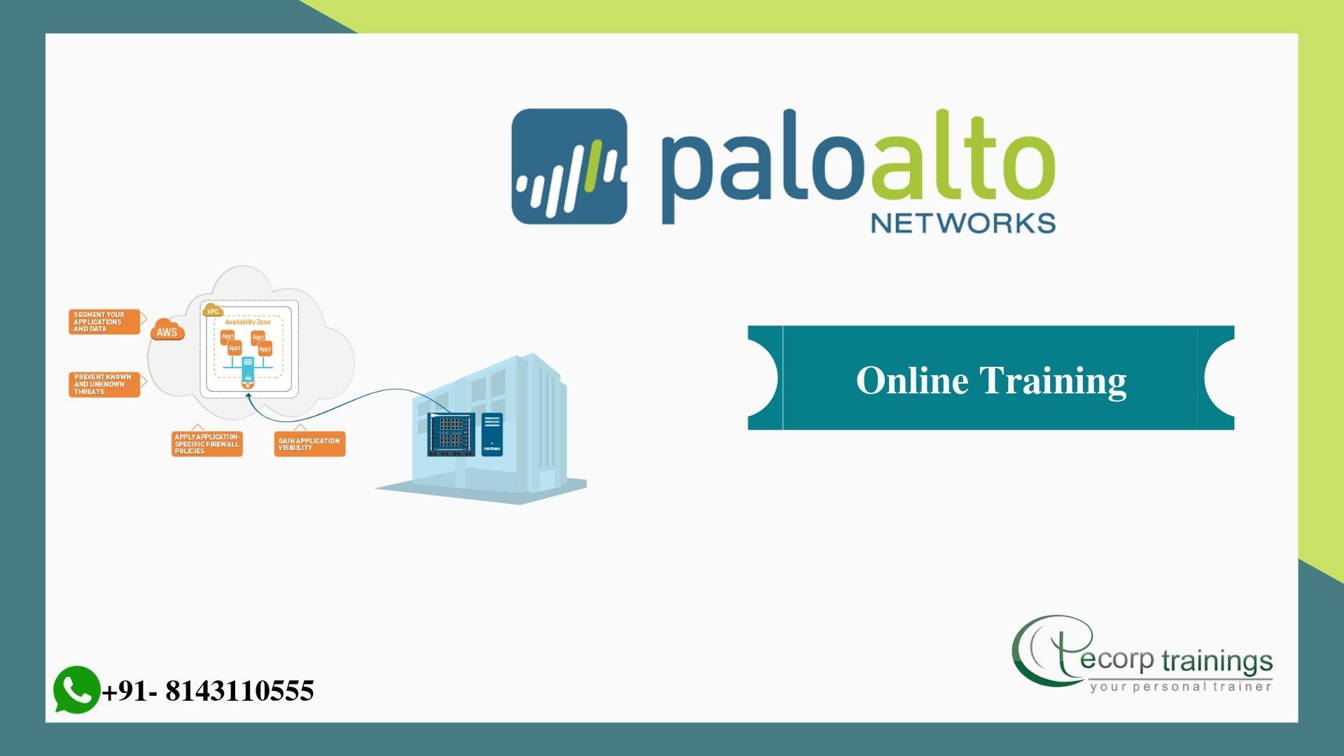 Palo Alto Networks Online Trainingecorptrainings Online