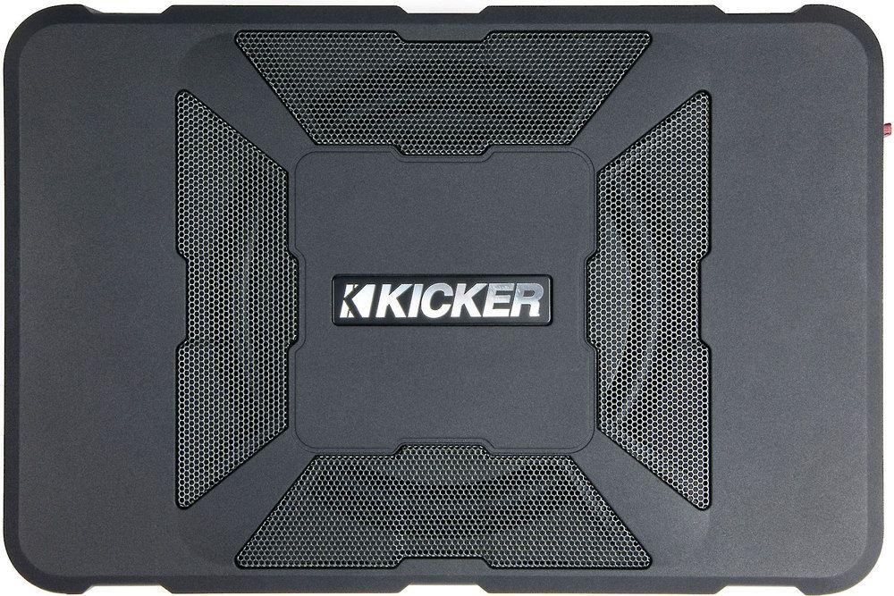 Kicker 11hs8 Hideaway U2122 Compact Powered Subwoofer  150