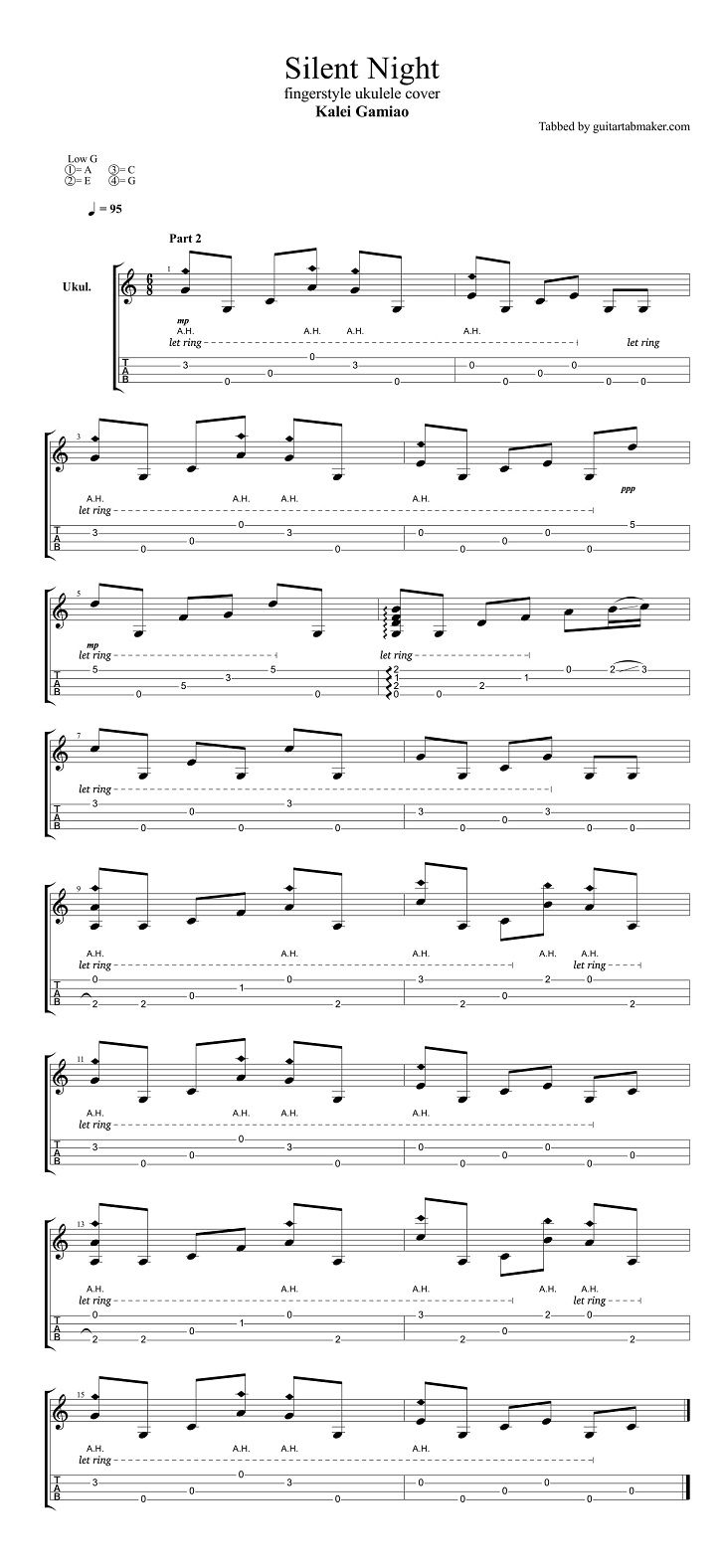 silent night fingerstyle ukulele tab pdf ukulele sheet music guitar pro tab download. Black Bedroom Furniture Sets. Home Design Ideas