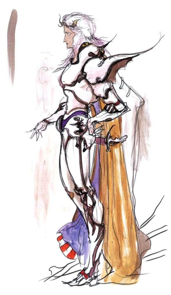 Yoshitaka Amano Cecil Harvey Final Fantasy Iv Final Fantasy Art Final Fantasy Iv Fantasy Concept Art