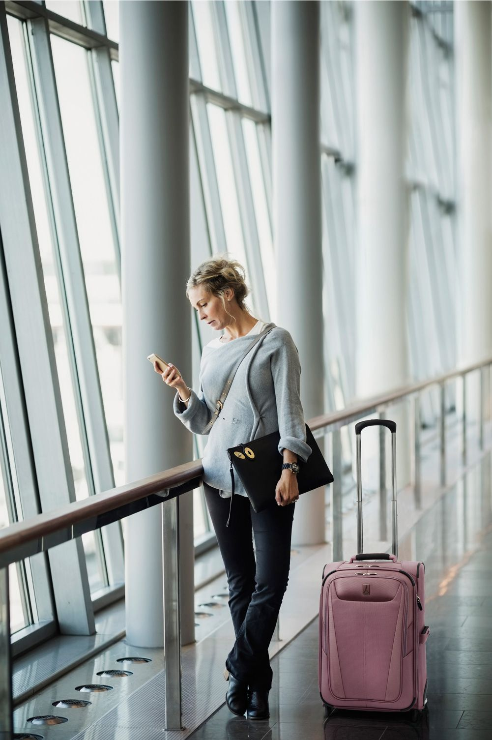 31b7074f6 Beautiful Dusty Rose Colored Luggage - Travelpro® brings superior  craftsmanship to the Marquis Maxlite 5 Rollerboard® 22 inch Carry-On  Suitcase.
