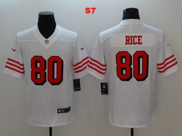 Men 80 Jerry Rice Jersey Football San Francisco 49ers Jersey ... deb9c0964