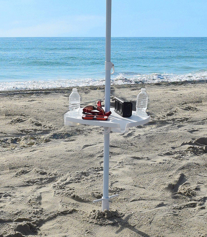 Beach Umbrella Table. Ideal for standard beach or picnic