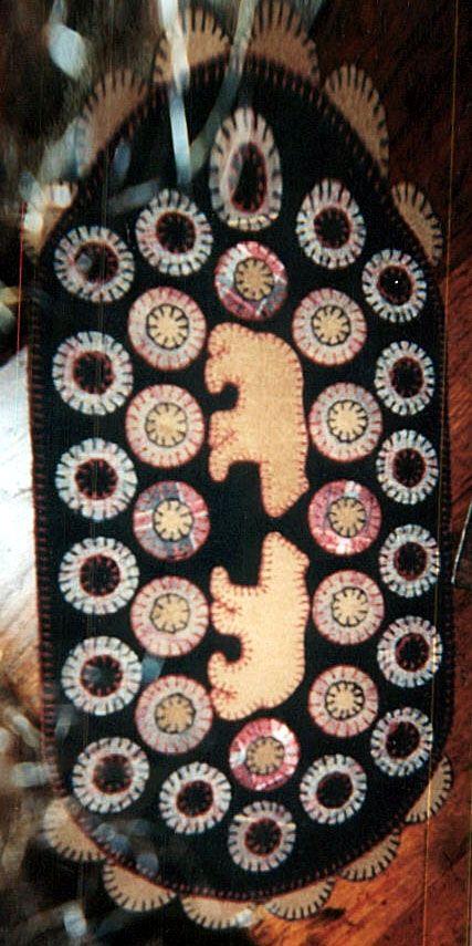 Penny Rug With Bears