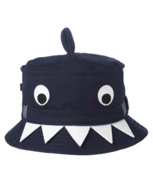 5d76412003 Happy Shark Bucket Hat: what holiday you say,