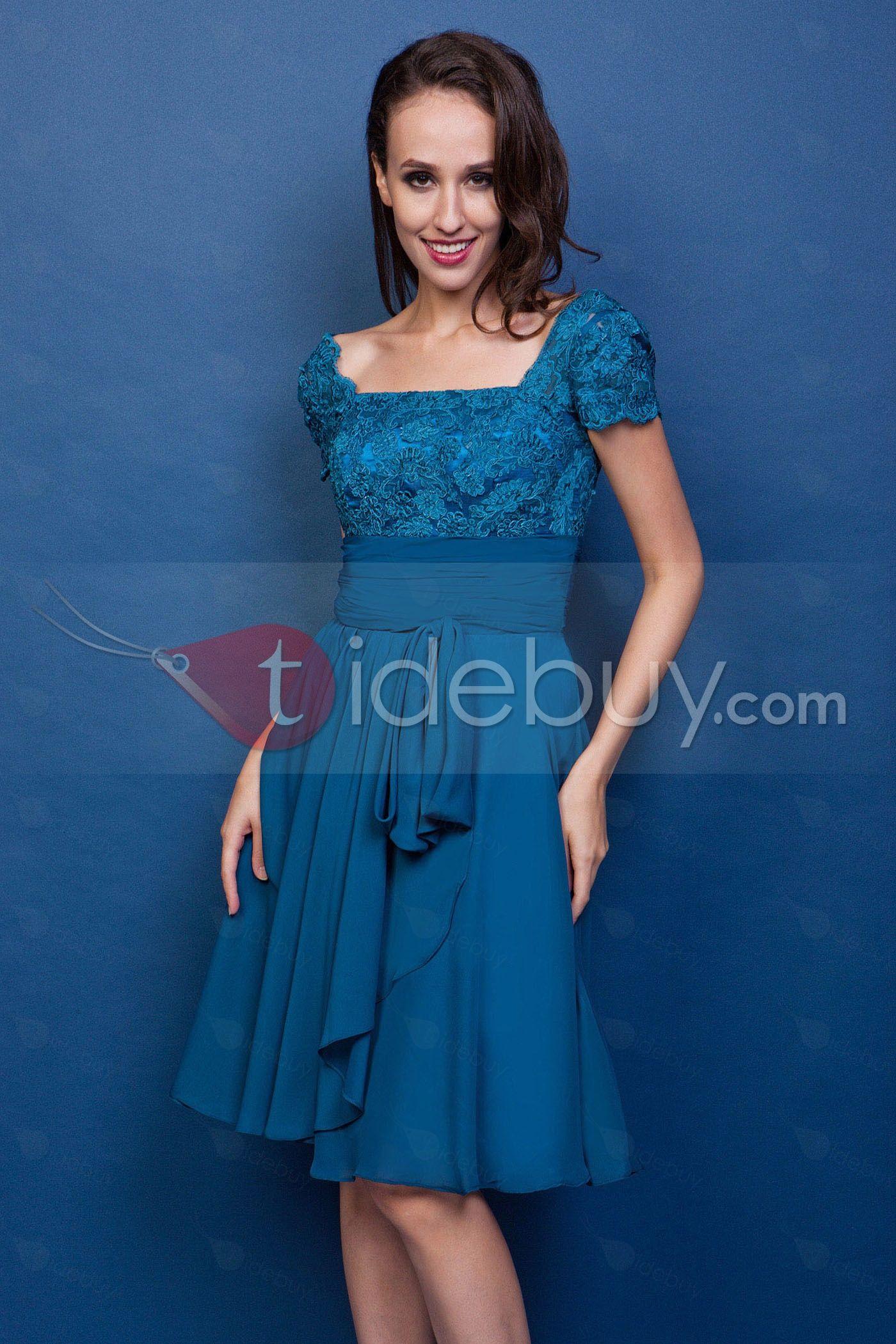 Vestidos de fiesta ala rodilla 2014
