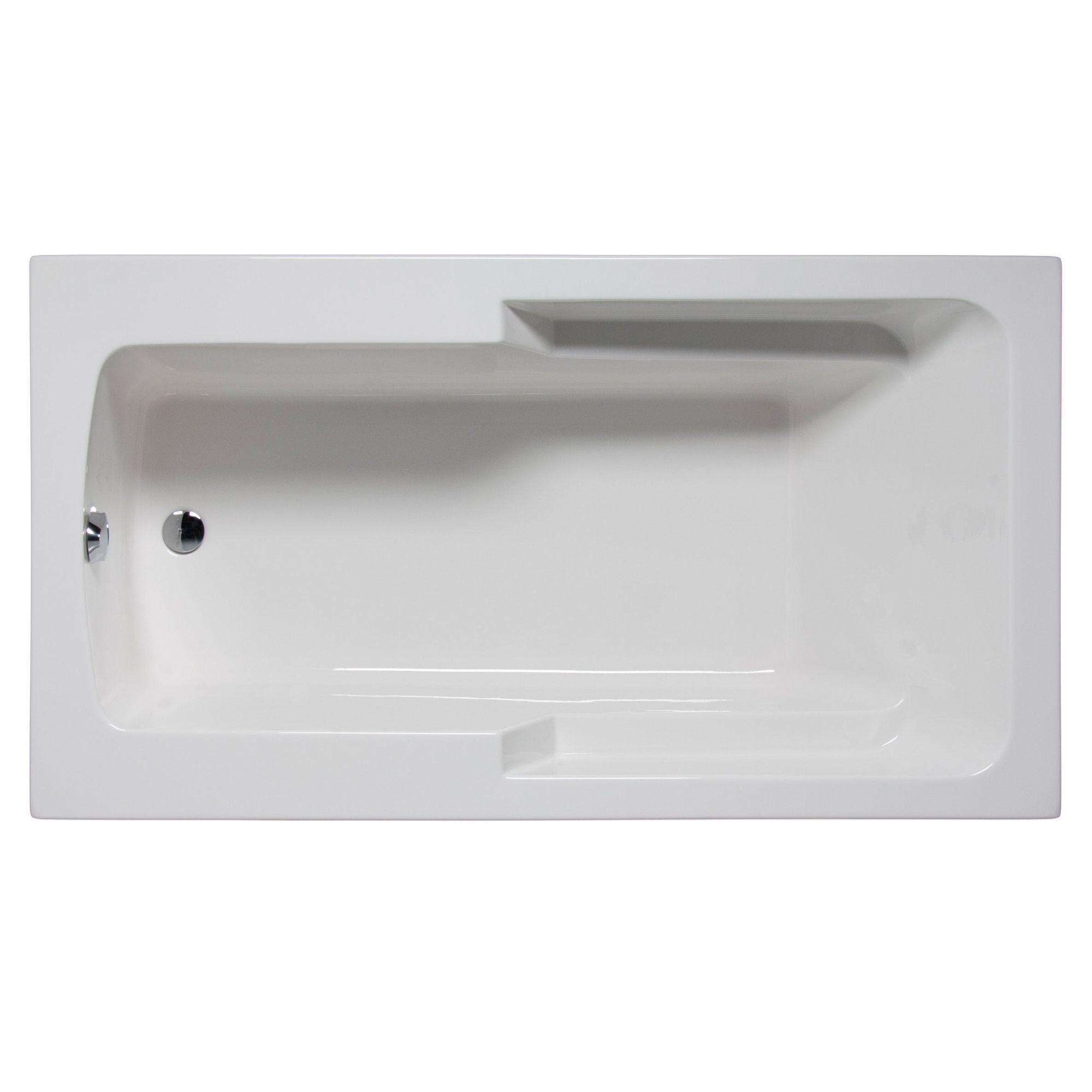 """Coronado 72"""" x 42"""" Whirlpool Bathtub"""