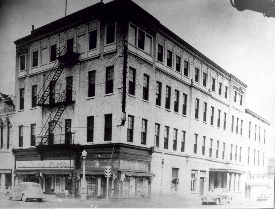 The Central Hotel, originally the Doxey House, was on the NE corner of 9th & Main ... Key Bank parking lot there now. Anderson, Indiana