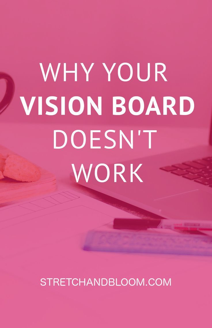 Photo of The problem with your vision board: why vision boards don't work