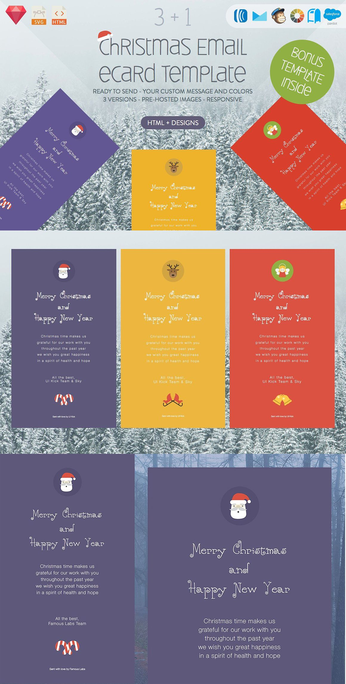 Email/eCard (HTML+DESIGNS)