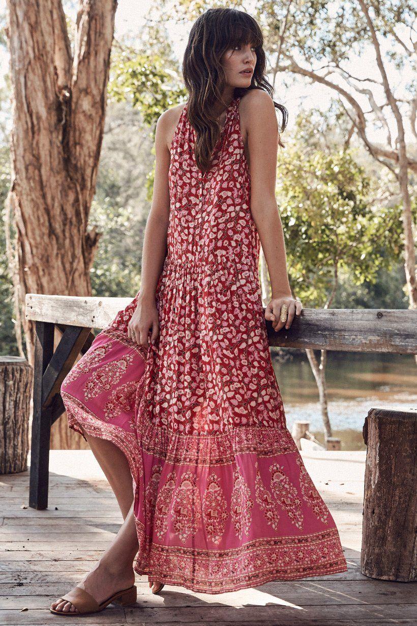 5ed09d3f2d1f Spell Designs Delirium Maxi Dress