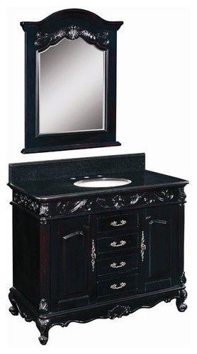 Perfect Belle Foret Model BF80164R Single Basin Vanity   Bathroom Vanities And Sink  Consoles