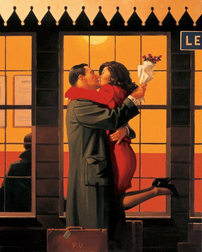 This is in my top 3 Vettriano paintings.