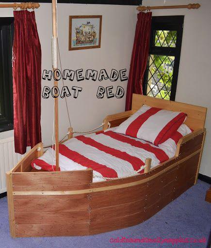 Thrifty Pirate Bedroom Gyerekszoba Agy