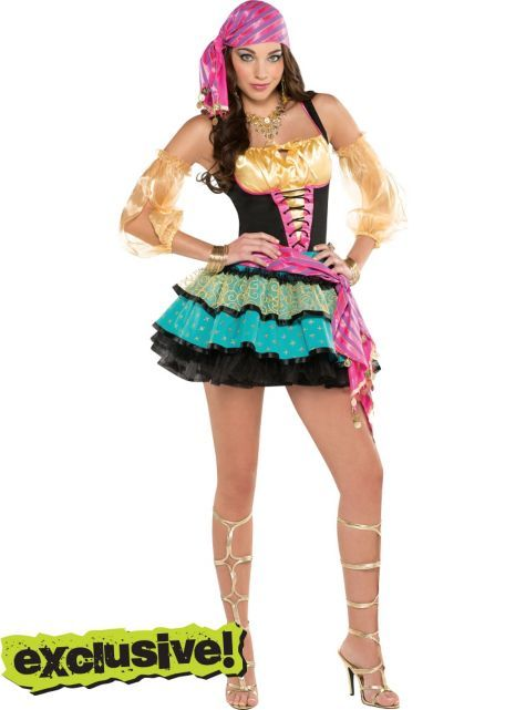 adult mystical gypsy costume party city - Mystical Halloween Costumes