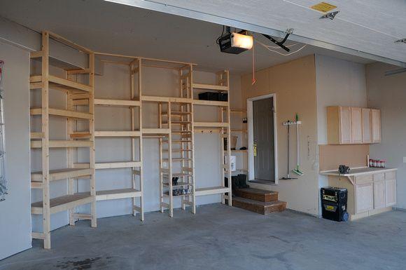 Custom Garage Shelving Garage Shelving Custom Garages Shelving
