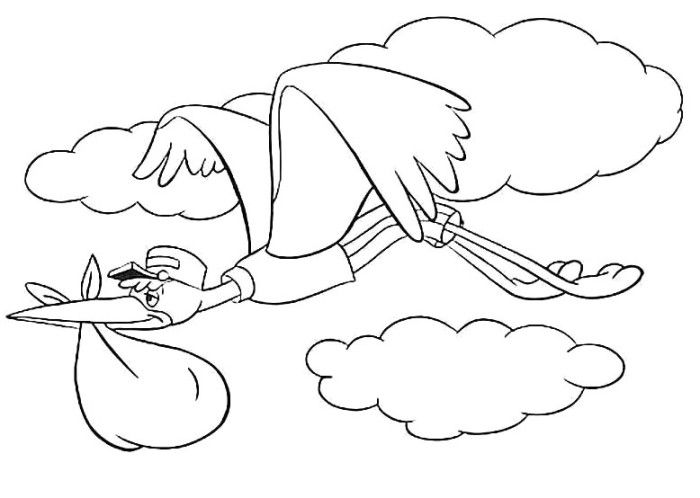 The Bird Friends Of Dumbo Coloring Pages - Dumbo Coloring Pages ...