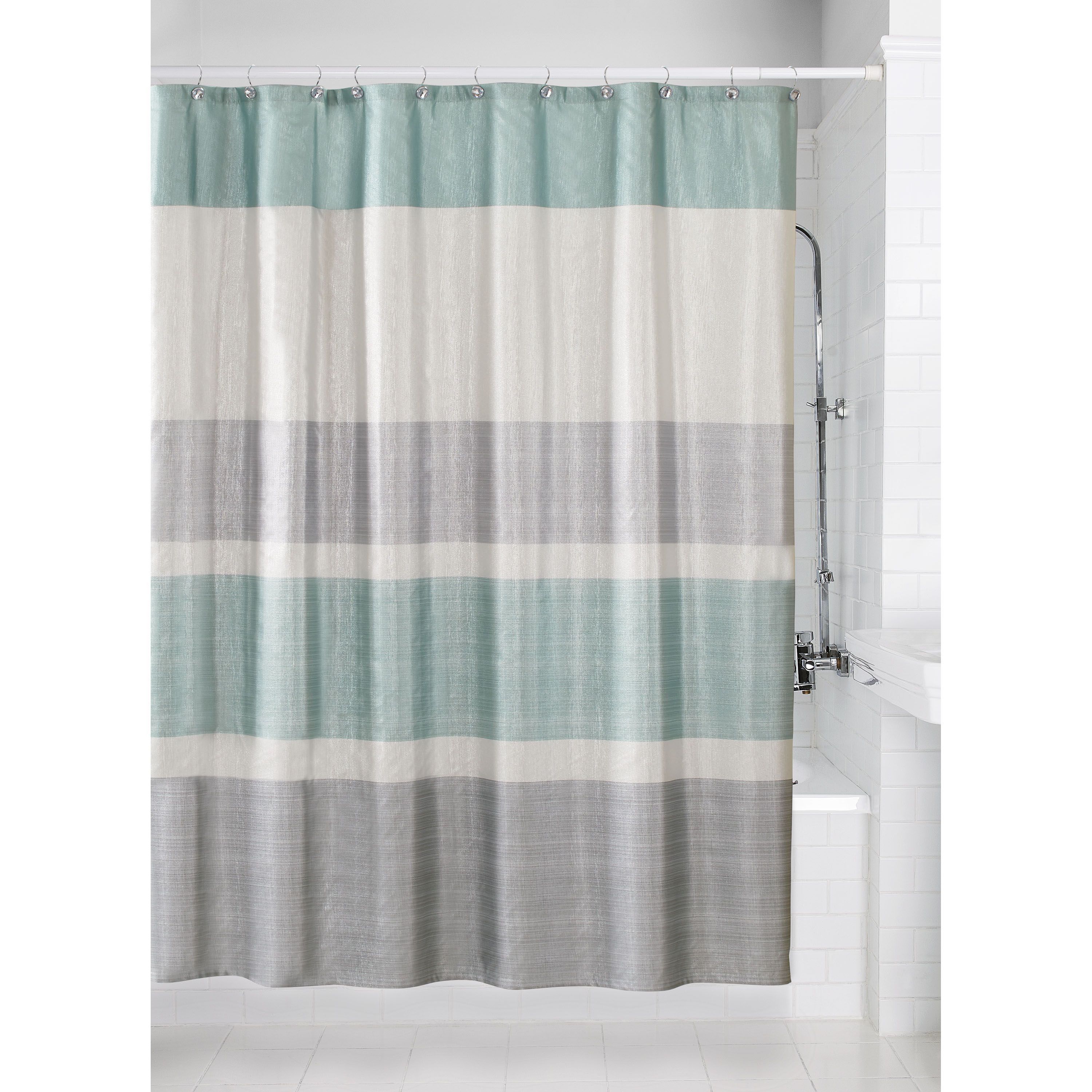 Better homes gardens glimmer polyester printed fabric