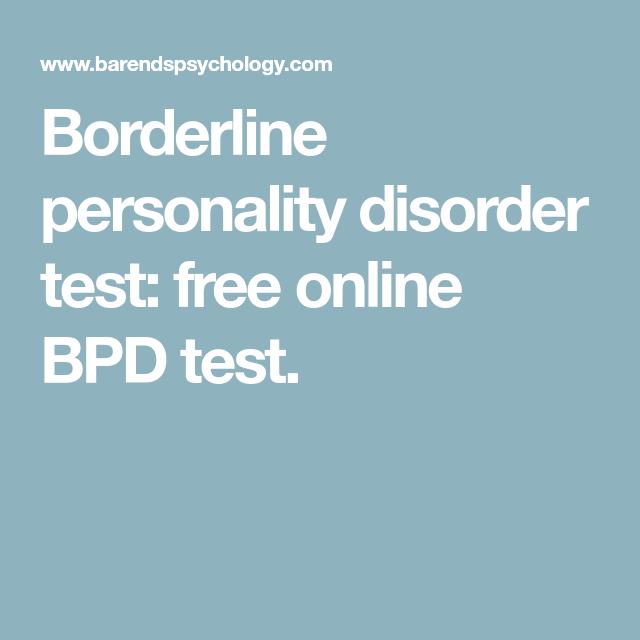 borderline test