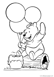 Dibujos De Winnie Pooh Bebe Buscar Con Google Bear Coloring Pages Baby Coloring Pages Birthday Coloring Pages