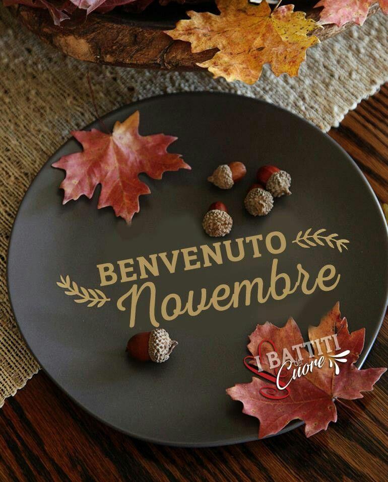 Benvenuto Novembre Novembre Immagini Benvenuto